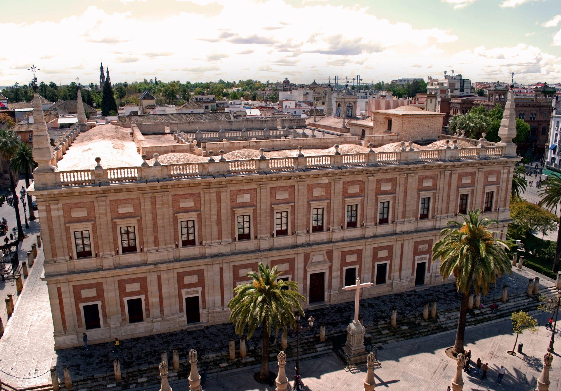 Portal de Archivos Españoles (PARES) and Archivo General de Indias (AGI)