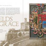 """""""Shields of Grace."""" El Palacio. Winter 2016. pp. 56-65. Santa Fe, New Mexico."""