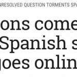 """The Times of Israel: """"Old tensions come to life as medieval Spanish synagogue goes online"""""""